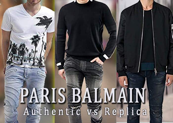 33b2b9e8 How to recognize the difference between real & fake Balmain Biker Jeans