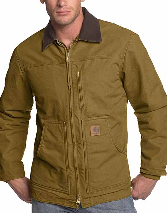 Carhartt Ridge Coat Sherpa Lined