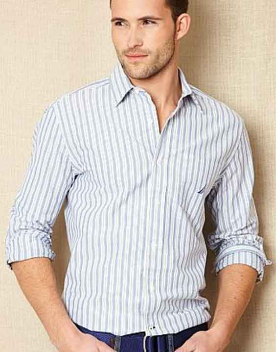 stripe shirt men