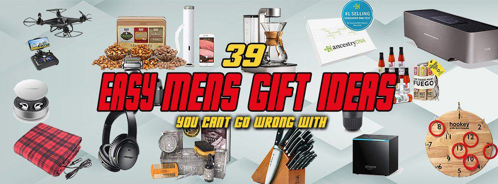39 Best Mens Gift Ideas To Shop For Today