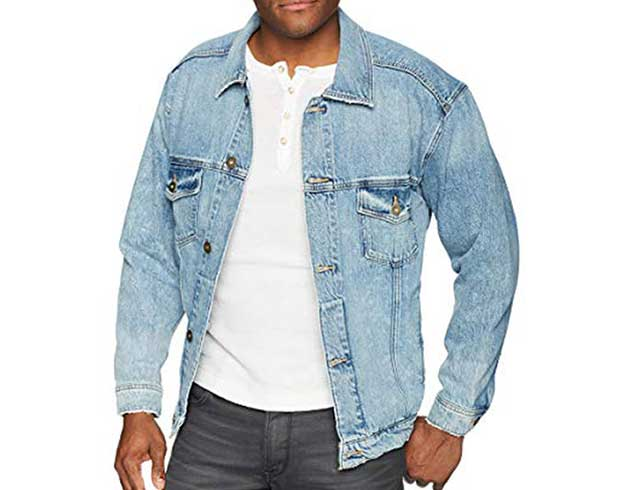Hudson Jeans Denim Trucker Jacket