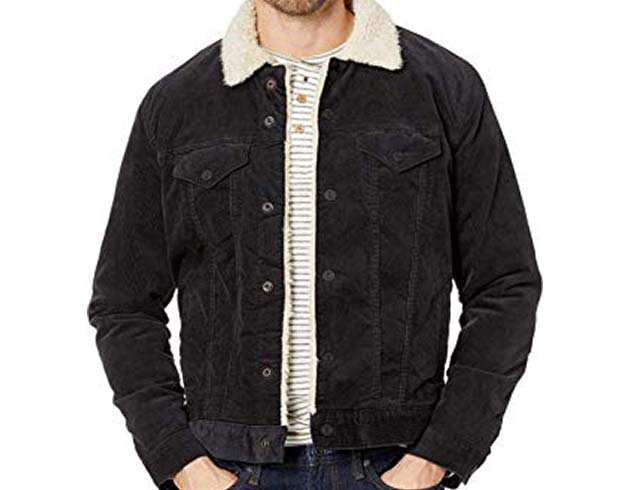 Lucky Brand Cord Trucker Jacket