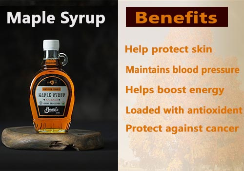 maple syrup benefits