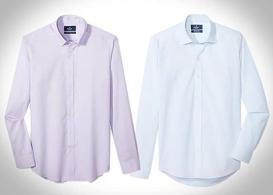 cotton polyester dress shirt