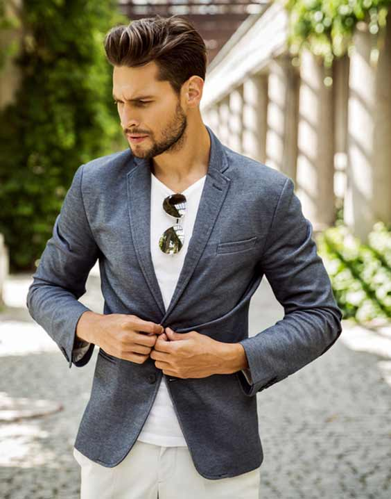 mens slim fit blazer