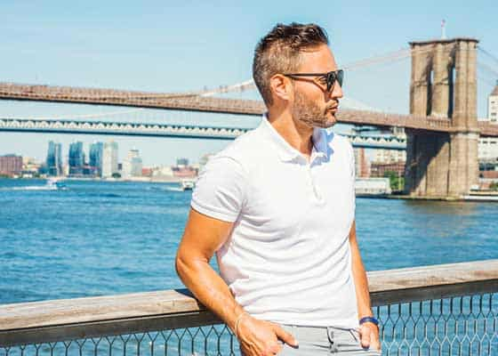 Best Fitting Men's Polo Shirt to wear