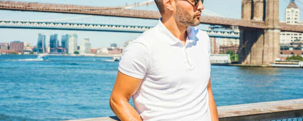 Best Fitting Men's Polo Shirt