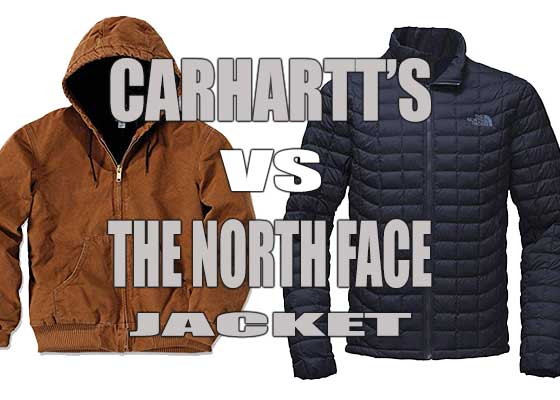 Carhartt Vs North Face Jackets