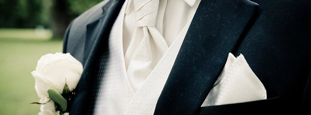 Mens tuxedo and suit