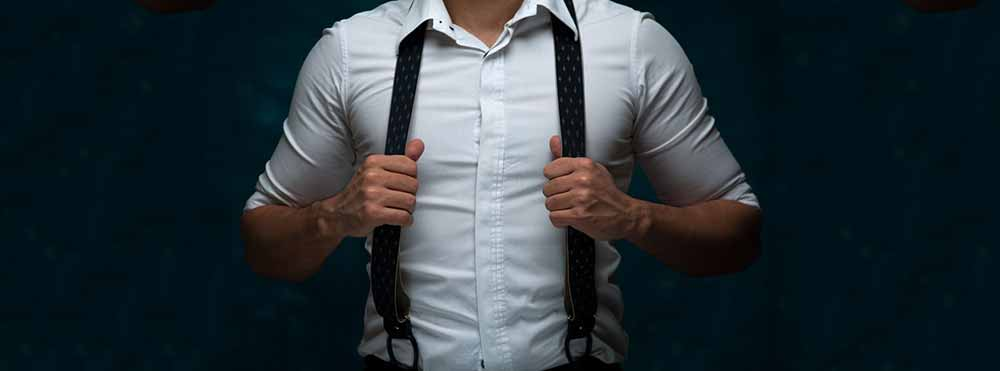 Style Tips for Large Guys in Suspenders