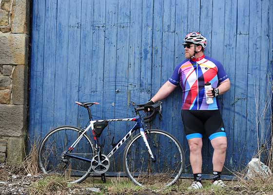 Cycling Jersey for Fat Guys