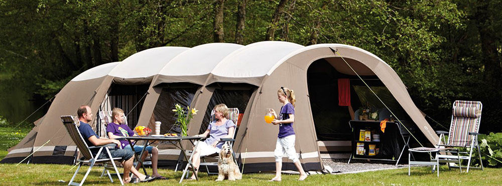 Large Family Tent with Blackout