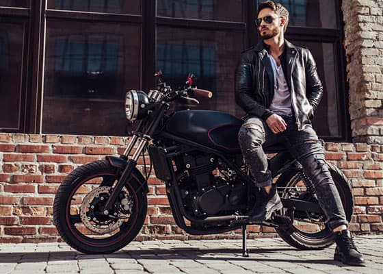 Motorcycle Boots to Wear with Jeans