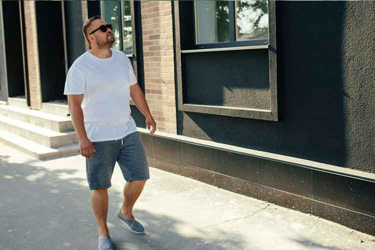 casual shorts for big guys